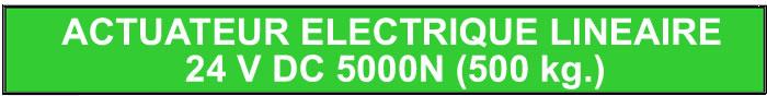 actuateur electrique
