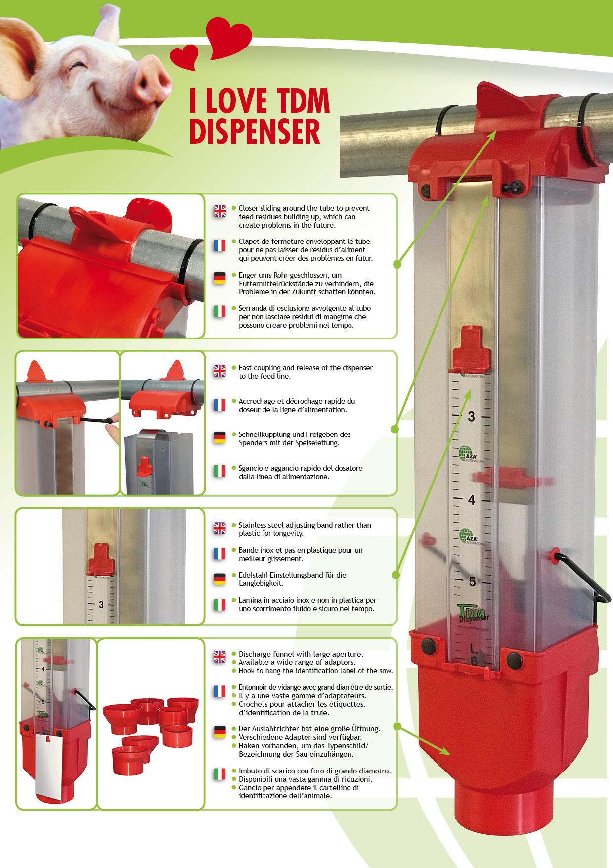 tdm dispenser